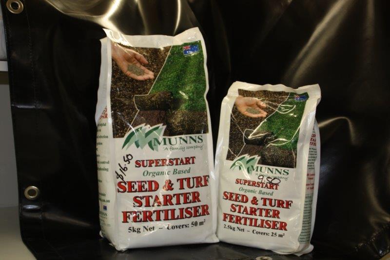 Lawn & Turf Starter Fertiliser