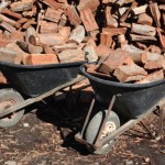Wheelbarrow of Firewood